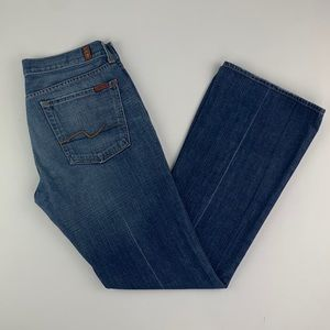 7 For All Mankind Flare Boot Cut Jeans 31/32